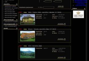 Strona listy obiektów